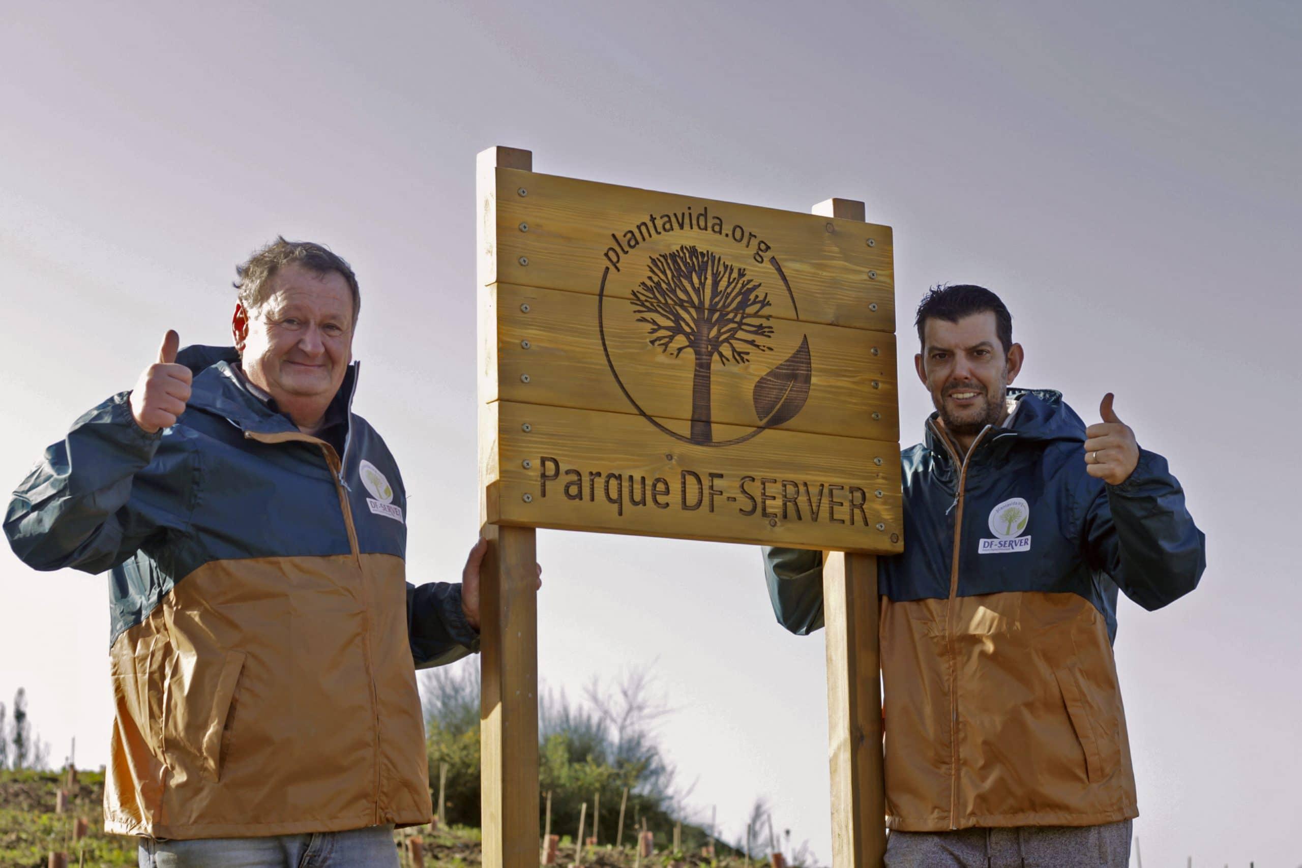 Inauguración «Parque DF-SERVER» en Galicia
